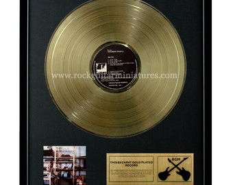 "Throbbing Gristle - DOA Third and Final Report Gold Disk 24K Plated 12"" LP (1318)"
