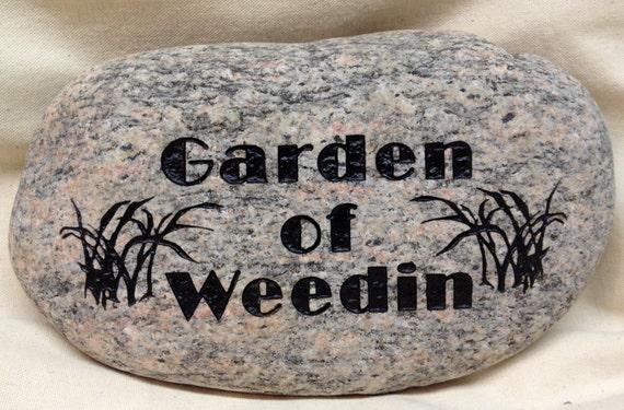 Custom Engraved Garden Stone Home Decor