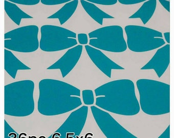 Bows wall decals