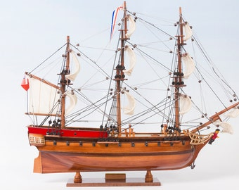 HMS Sirius tall ship model 45cm