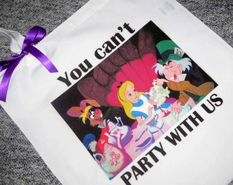 Alice Tea Party Tote Bag
