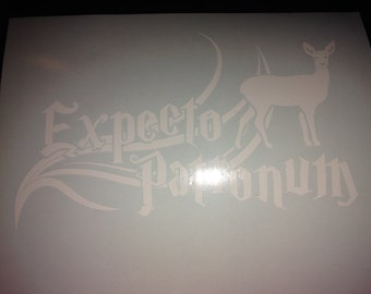 Expecto Patronum Vinyl Decal