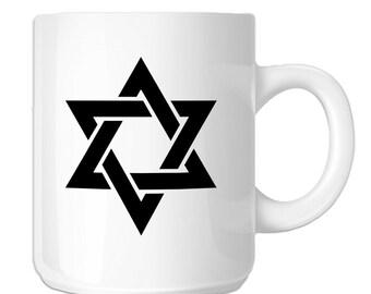 Star of David Jewish Star Seal of Solomon (SP-00616) 11 OZ Novelty Coffee Mug