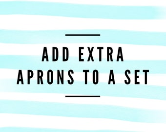 Add extra apron to a set