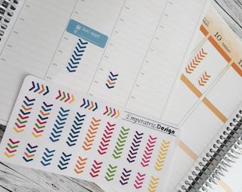 24 Arrow Sticker for Planner,Diary,Journal,filofax