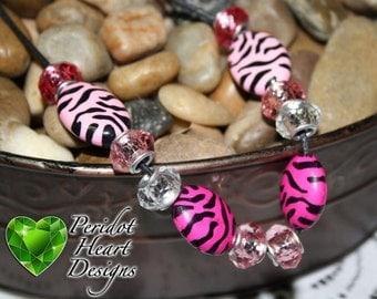Girl's Zebra Necklaces