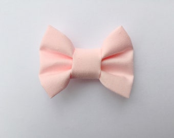 MINI Baby Pink Bow, baby headband, baby hair clip, baby girl, girl toddler, pink bow, headband, hair bow