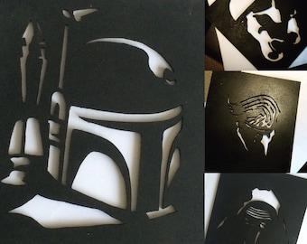 Star Wars Wall Art by Ziekaru