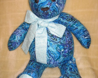 "Taranaki ""Paua shell"" Teddybear"