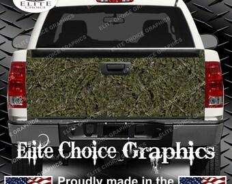 Marshland Camo Truck Tailgate Wrap Vinyl Graphic Decal Sticker Wrap
