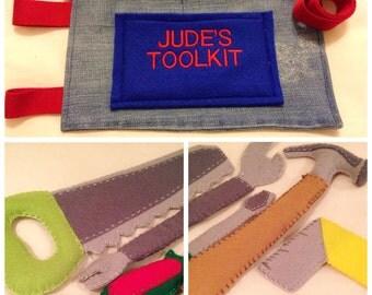 Children's toolbelt and tools