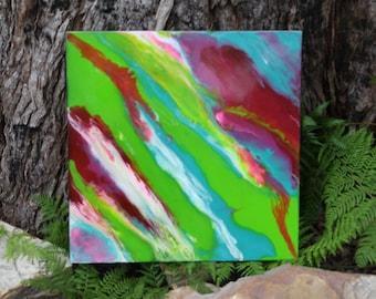 Fluro Abstract Art