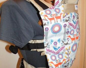 Baby carriers slings, full buckle, INDIGO handmade
