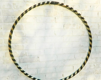 Fancy Collapsible Dance & Fitness Hoop // Pick your colors!  (METALLIC TAPE)