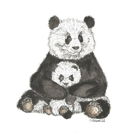 Panda 'Motherly Love'