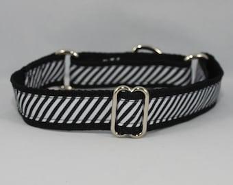 "Martingale ""Black Tie Affair"" Dog Collar"