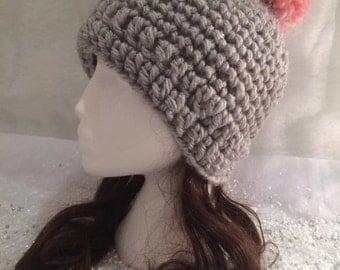 The Chloe Bobble / Pom Pom Wool Winter Hat