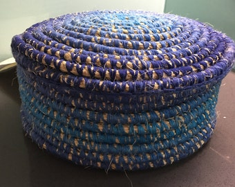 Blue Meditation Perch