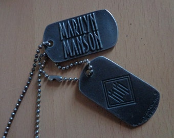 Marilyn Manson neckless