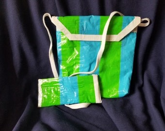 Small String Pocketbook with matching Change purse