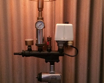 Steampunk Lamp Pressed Energy
