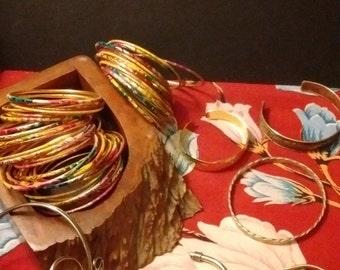 Various Cuffs and Bangles