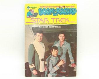 Star Trek The Crier In Emptiness  PR-26 Book & Record