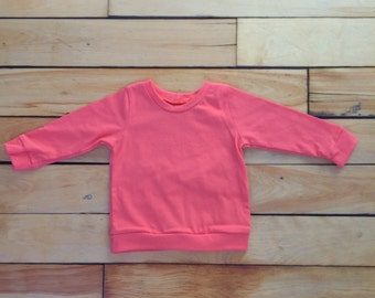 Coral long sweater