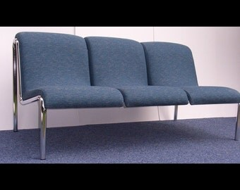 Modernist 3 Seater Couch by the Conran Design Group 1970,s