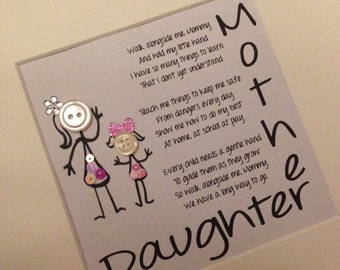 Personalised Frame Ideal for Mother's Day or birthdays