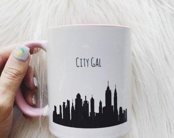 City Gal Coffee Mug