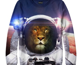 Lion astrounaut