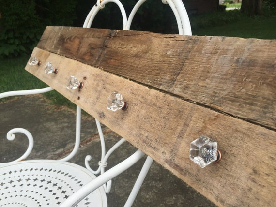 Rustic Pallet Sign/ Coat Hook / Jewelry Holder / by ...