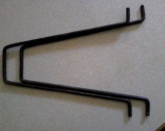 Steel rocking horse bars - used in making rocking horses swings the horse