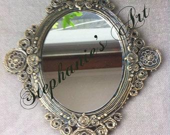 Handmade Oval Mirror
