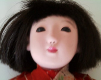 Japanese Doll from 1940s or 50s