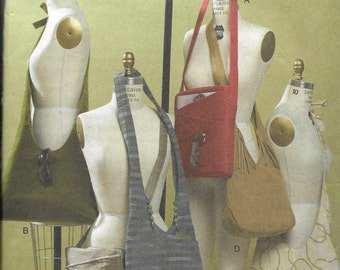 Pattern For Six Different Handbags/Totes/Purses, UNCUT -Vogue Accessories 8274  Dated 2006 -  One Size*
