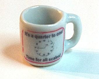 Miniature Coffee Cup for Miniaturists (CER015)