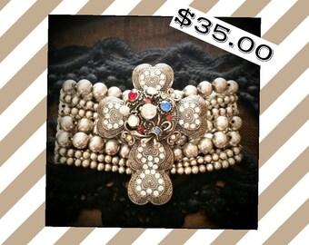 Beautiful Large Cross Bracelet