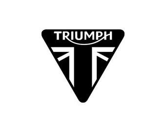 Triumph Motorcycles Decal Vinyl Sticker