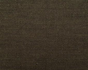 Linen natural - color: Earth Brown - 100% natural fiber - 0.5 m
