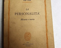 /Misura personality and theory of Paul Kline/published 1984 Astrolabe
