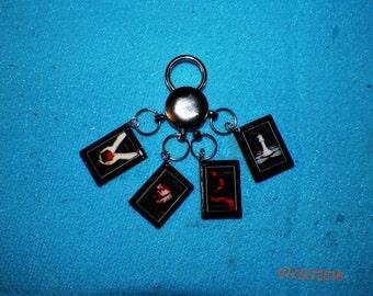 Mini Book Keychain: The Twilight Series by Stephenie Meyer Mini Book Jewelry