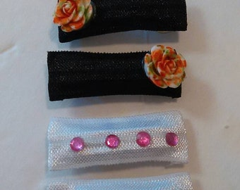 Girls barrette set/4pcs