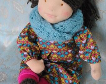 Doll Waldorf style 48 cm tall Anna