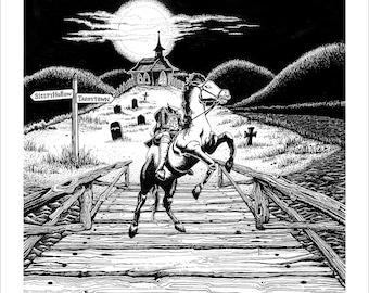The Headless Horseman from The Legend of Sleepy Hollow