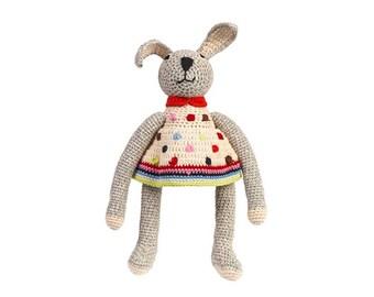 Doudou Bunny rabbit baby Anne - Claire PETIT