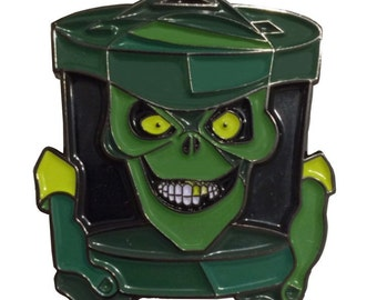 Haunted Mansion Hatbox Ghost Enamel Pin