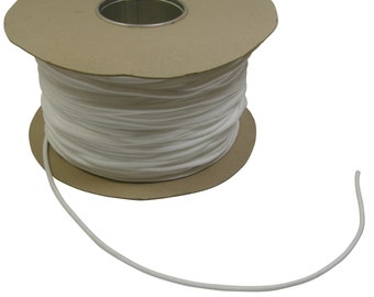 White 4mm Washable Piping Cord *6 Sizes*