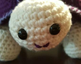 Amigurumi Turtle, Crochet Turtle, Stuffed, Soft, hand made Turtle Toy